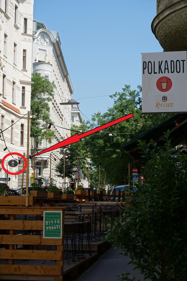 public viewing Wien Darstellung der Nähe von Avalon zu Polkadot