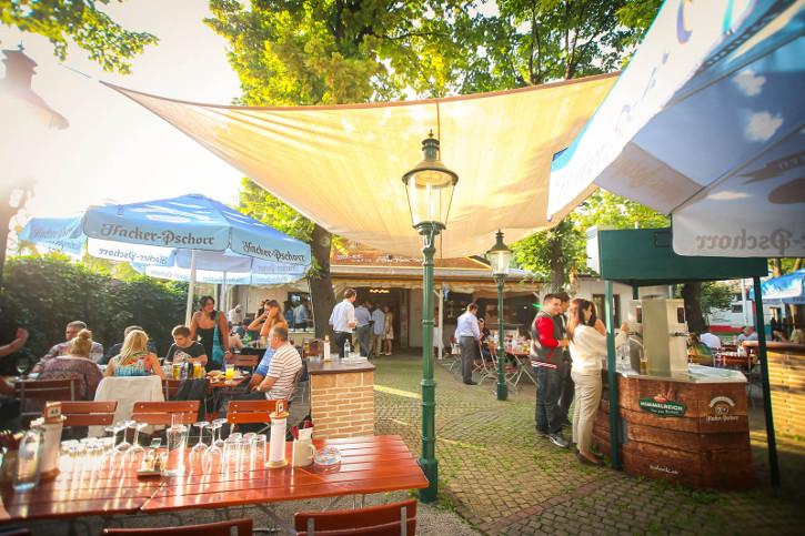 public viewing Wien das Himmelreich im Prater Biergarten privat zu mieten