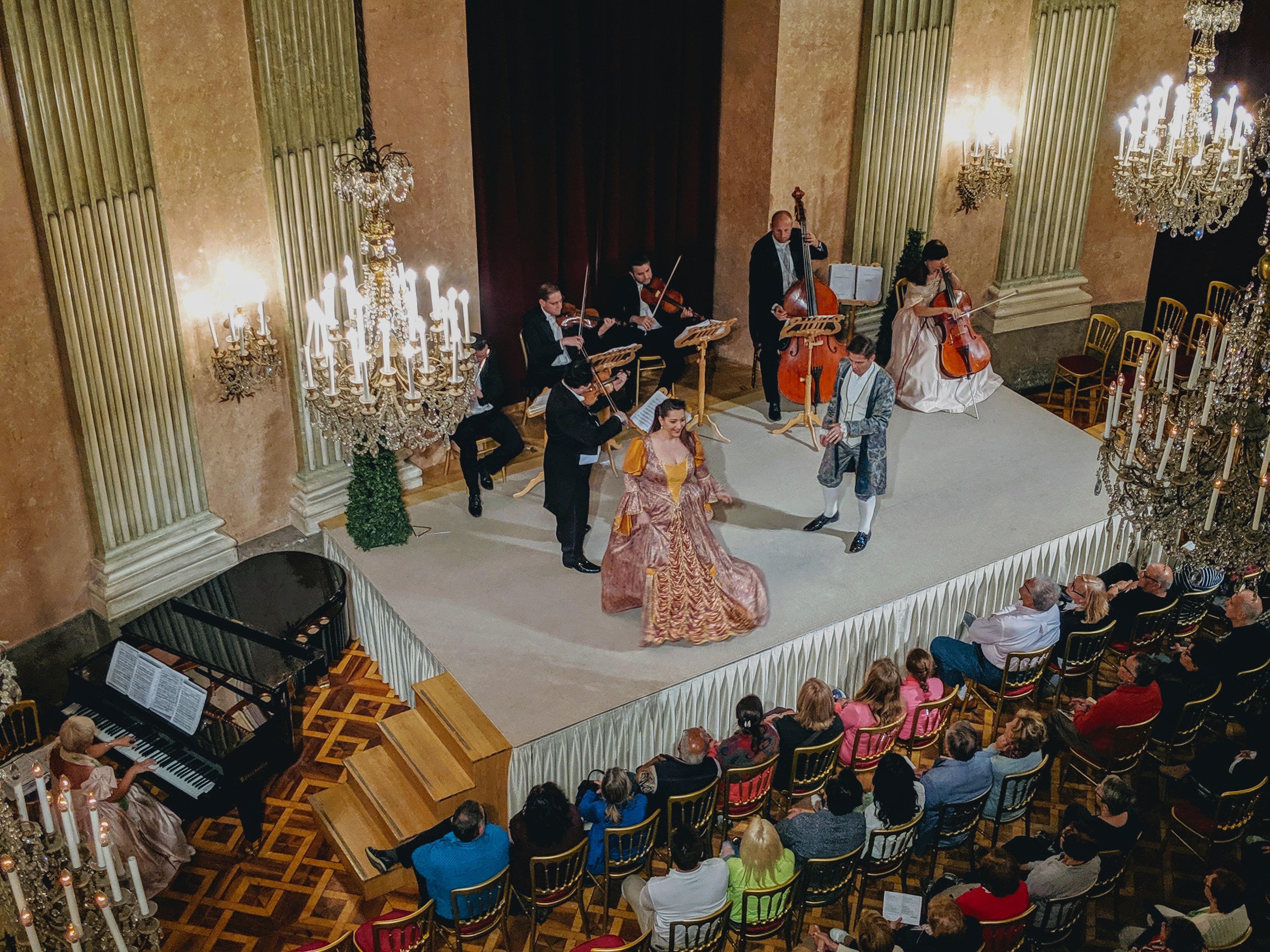 klassisches Konzert des Wiener Residenzorchester im Palais Auersperg