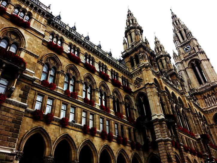 Tour durch Wien - das Rathaus