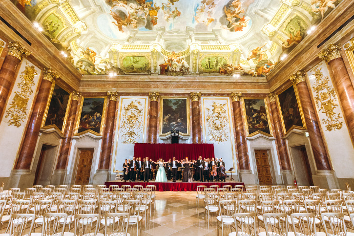 Herkulessaal des Palais Liechtenstein