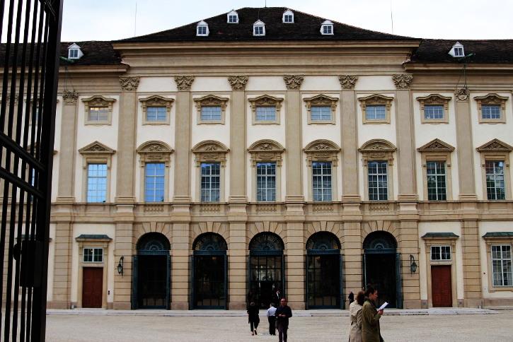 Palais Liechtenstein Außenansicht