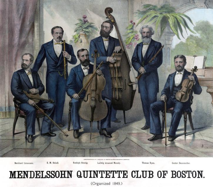 Bild des Mendelssohn Quintetts