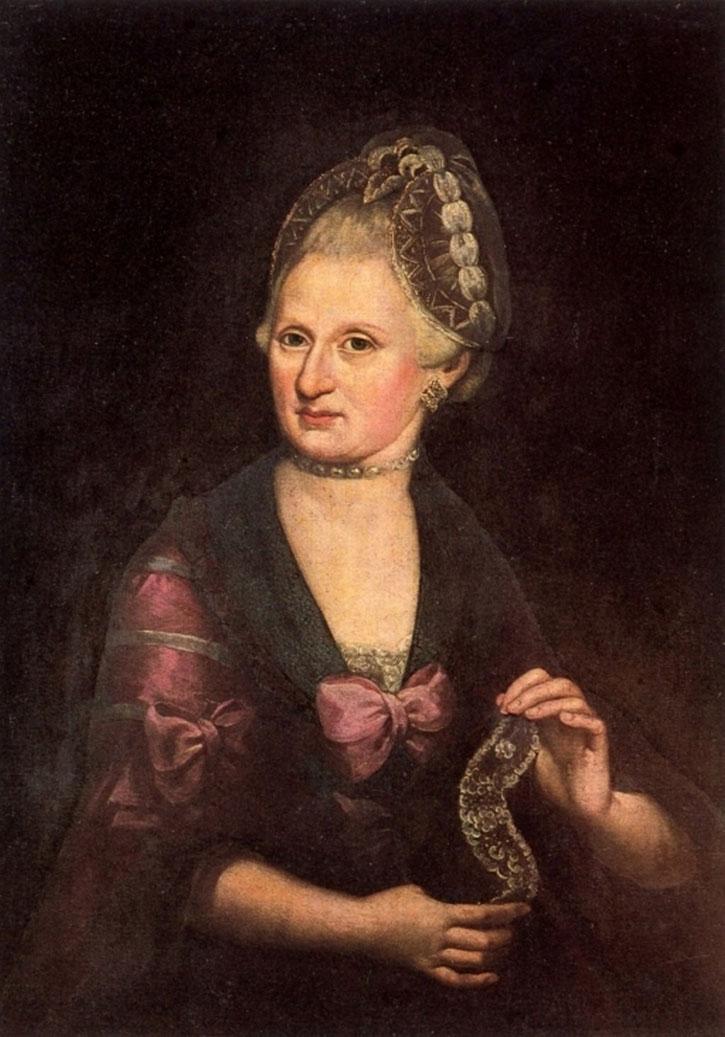 Anna Maria Mozart, ein Portrait von Mozarts Mutter