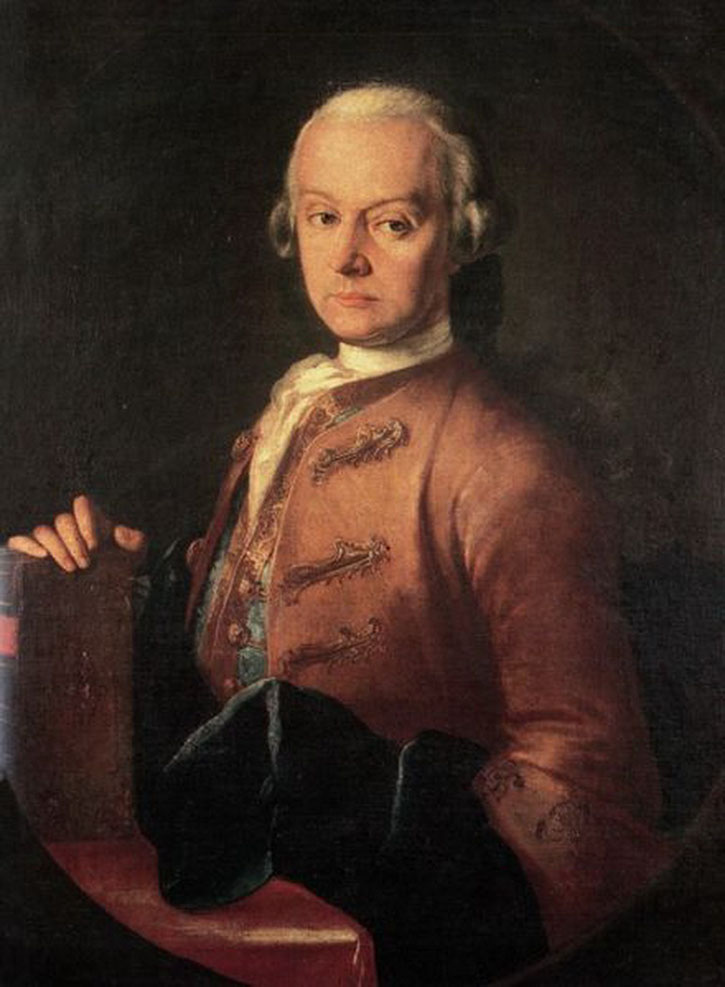 Leopold Mozart, ein Portrait von Mozarts Vater
