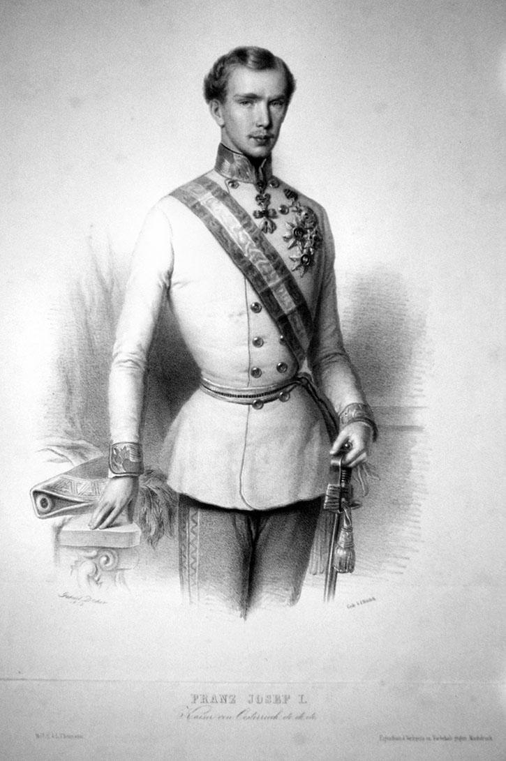 Kaiser Franz Joseph I., Mann von Kaiserin Elisabeth - Sissi (Bild7)