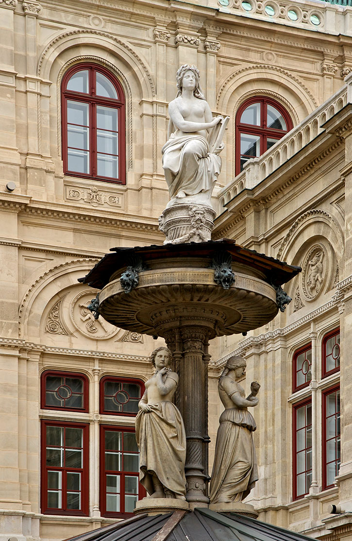the fountain on the left side of the Vienna State Opera (pic3)