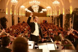classical concert in Schoenbrunn Palace
