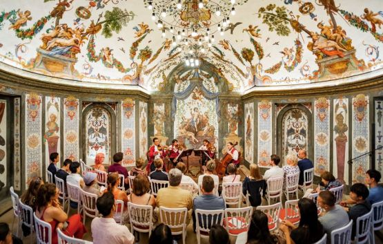 String Quartett in the oldest concerthall in Vienna