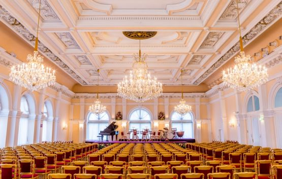 Concert hall in Kursalon Vienna