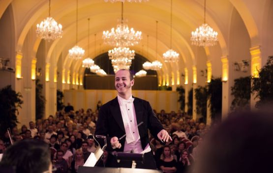 Conductor of the Schoenbrunn Palace Concert