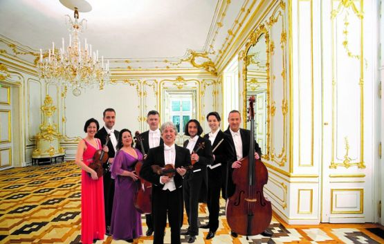 Schoenbrunn Palace Ensemble in the White-and-Gold-Room