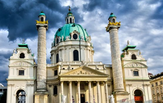 St. Charles Church Vienna